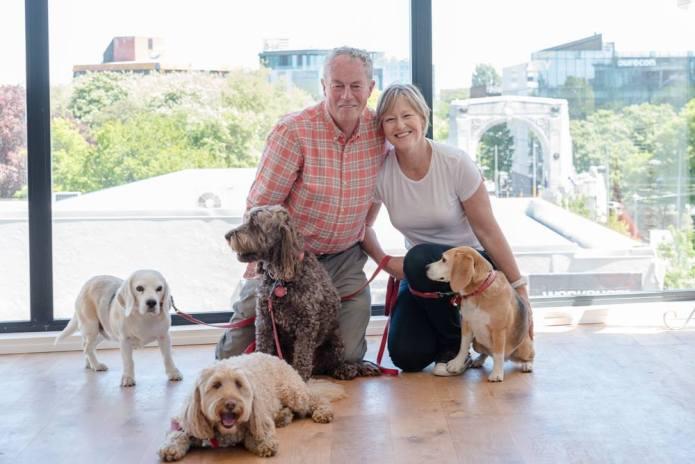 Sue and Dennis